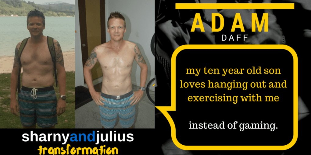 Adam Daff client transformation