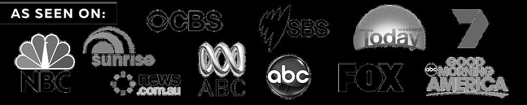 as seen on SBS CBS FOX